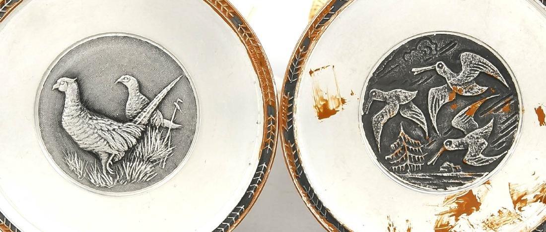 2 Beinfiguren, China, 19. Jh., Herrscherpaar mit reich - 3