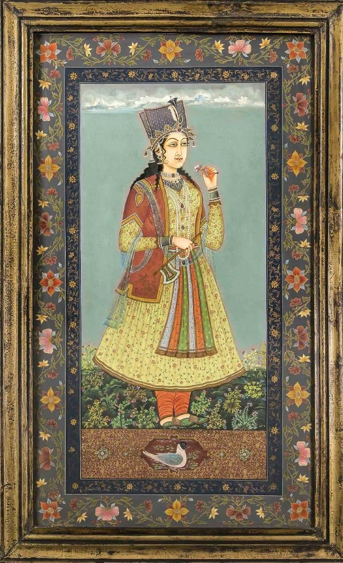 20th century Indo-Persian painting in the style of the