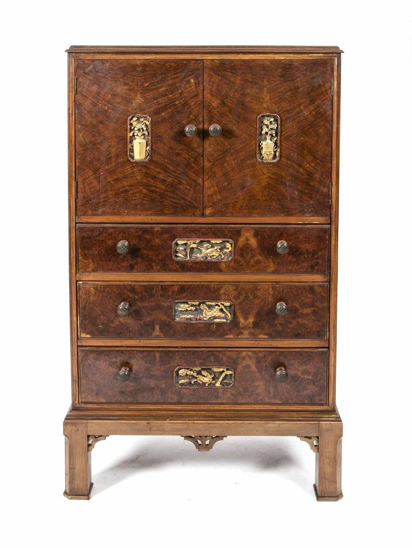 Dresser, mahogany and lacquer, China, 20th century,