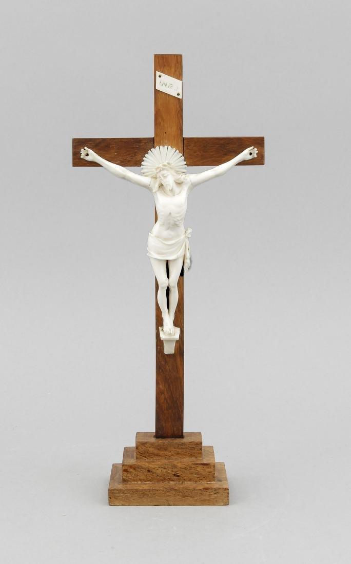 Kruzifix, Deutschland, Anfang 20. Jh., lateinisches