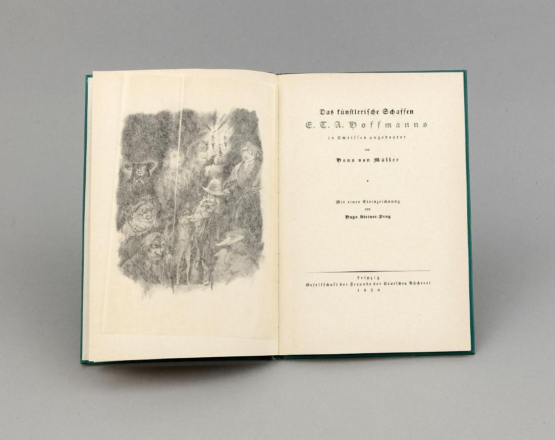 Exlibris Max Liebermann, in: Artistic Creation E.T.A.