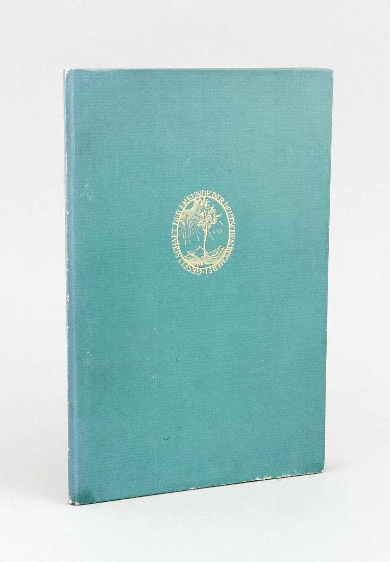 Exlibris Max Liebermann, in: Artistic Creation E.T.A. - 2