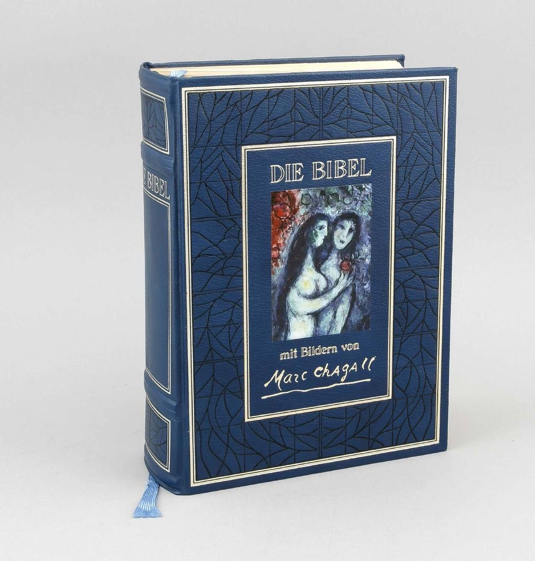 Chagall Bible, ''The Bible with pictures by Marc