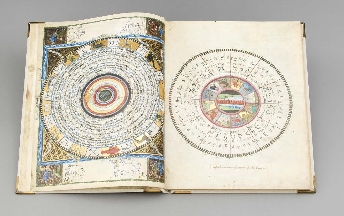 Facsimile, ''Astronomical-Astrological Codex Wenzels'', - 2