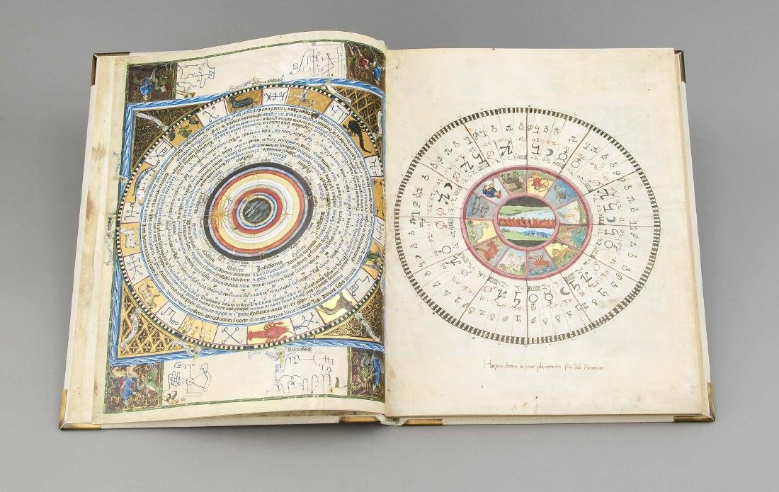 Facsimile, ''Astronomical-Astrological Codex Wenzels'', - 3
