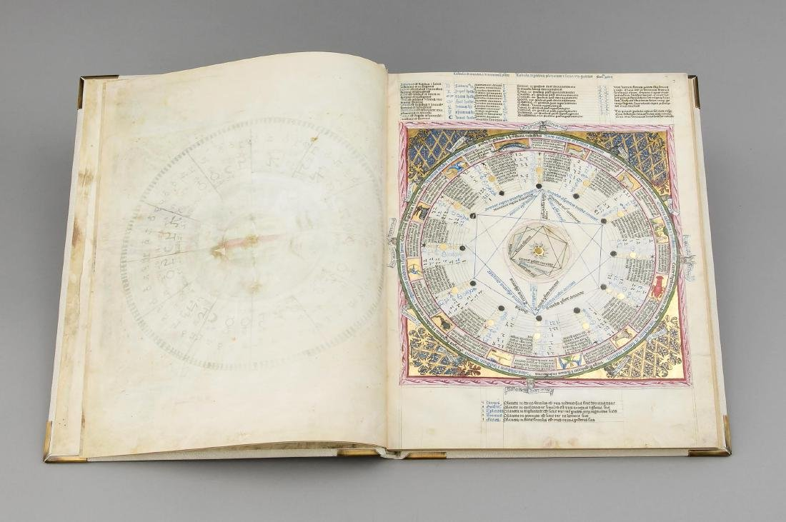 Facsimile, ''Astronomical-Astrological Codex Wenzels'', - 4