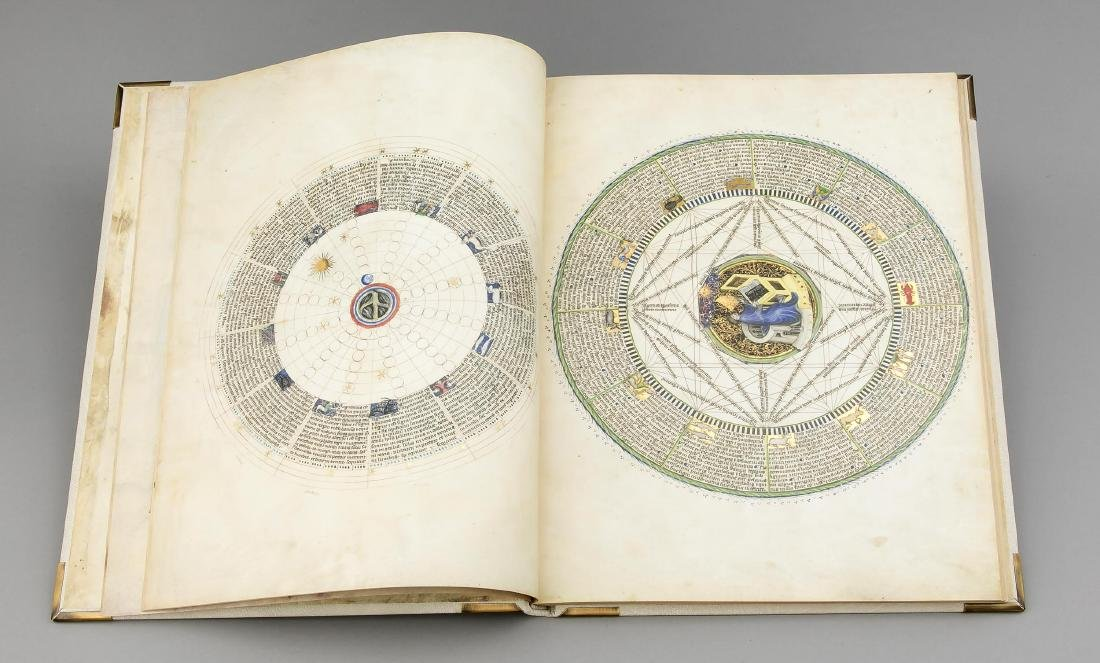 Facsimile, ''Astronomical-Astrological Codex Wenzels'', - 5