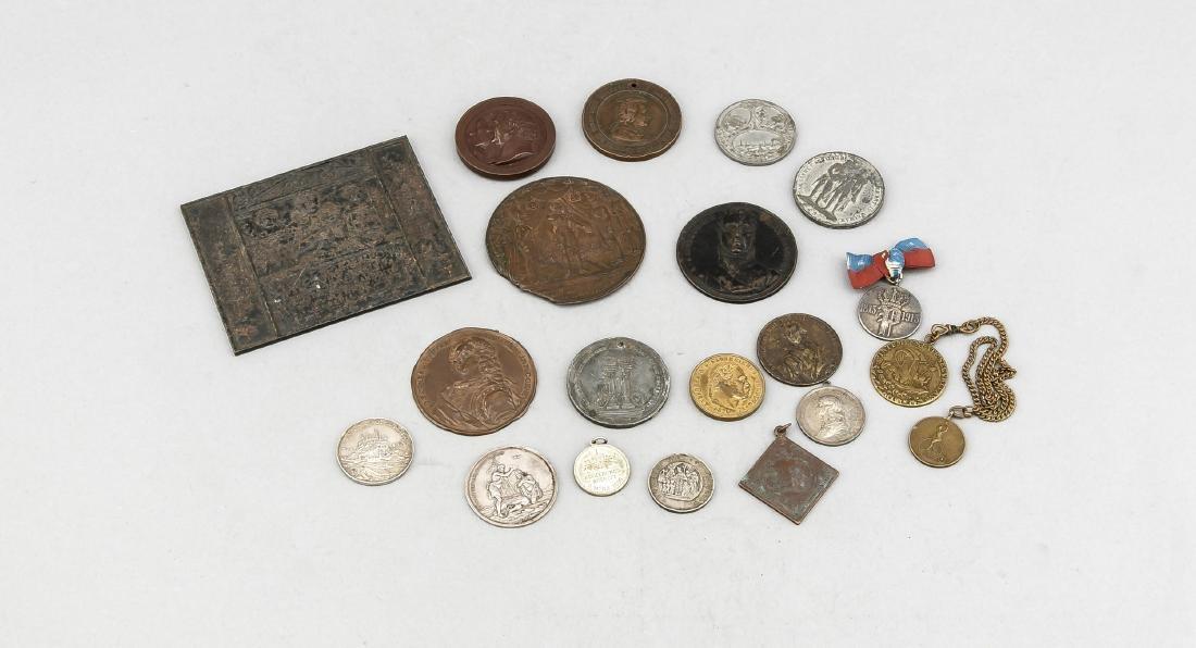 Großes Konvolut Münzen und Medaillen, insgesamt ca. 9 - 5
