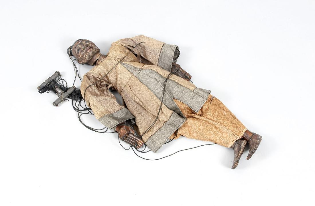 Marionette, Mingun bei Mandalay/Burma, 19. Jh., dunkles