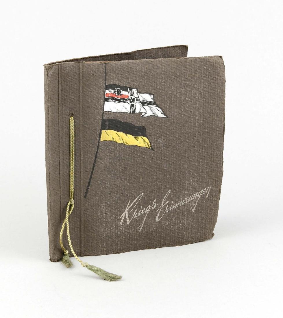 Buch mit Postkarten mit Fotografien von Adeligen (ca.
