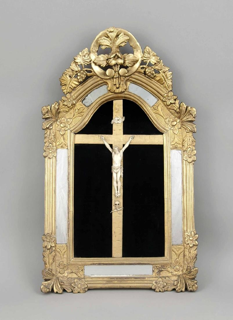 Crucifix of the 19th century, Corpus Christi in a