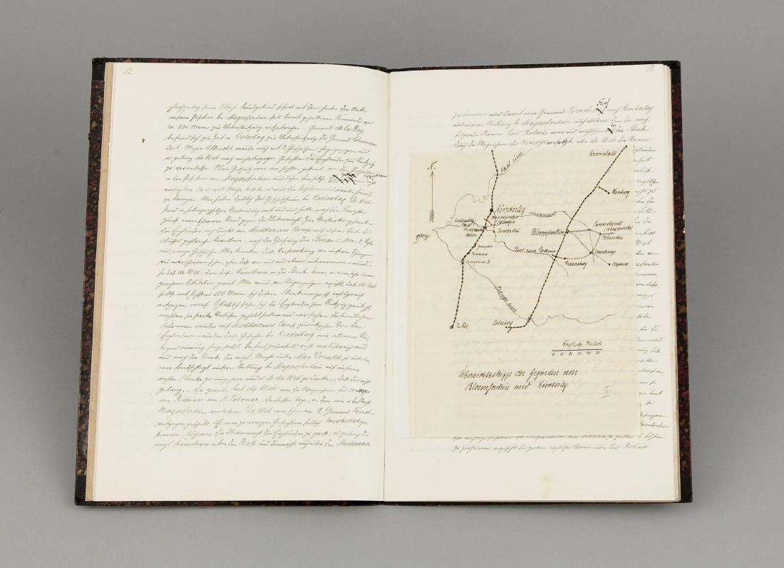 Cape Colony, manuscript, 90-page manuscript from 1900