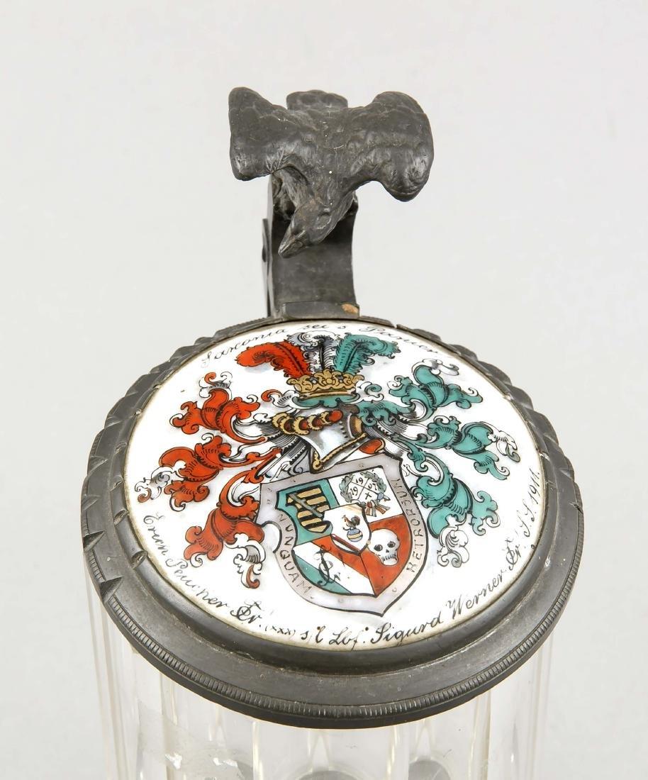 Glashumpen mit Wappen/Studentenkrug 0,4 L, Deutschland - 2