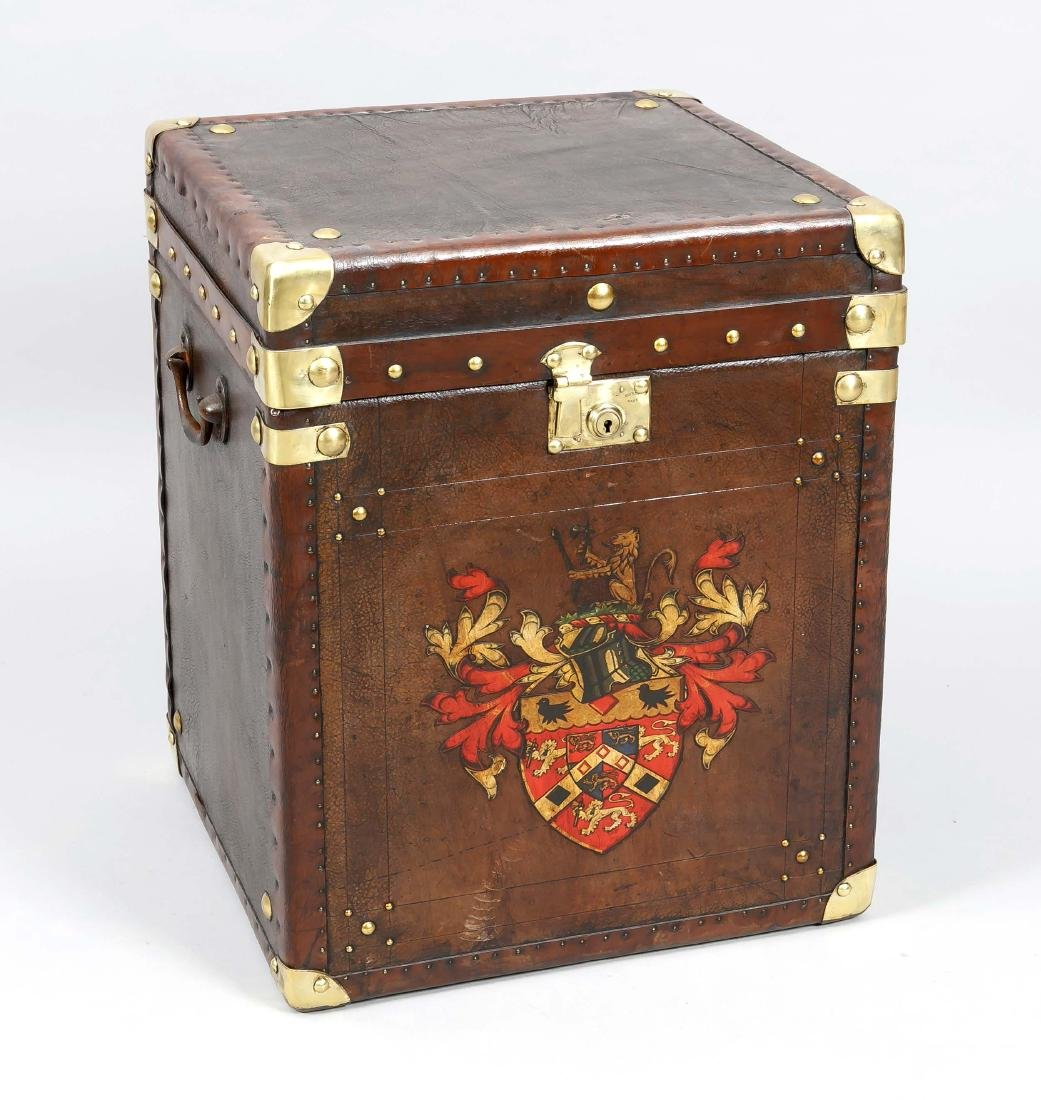Large suitcase, so-called top case suitcase, 20th