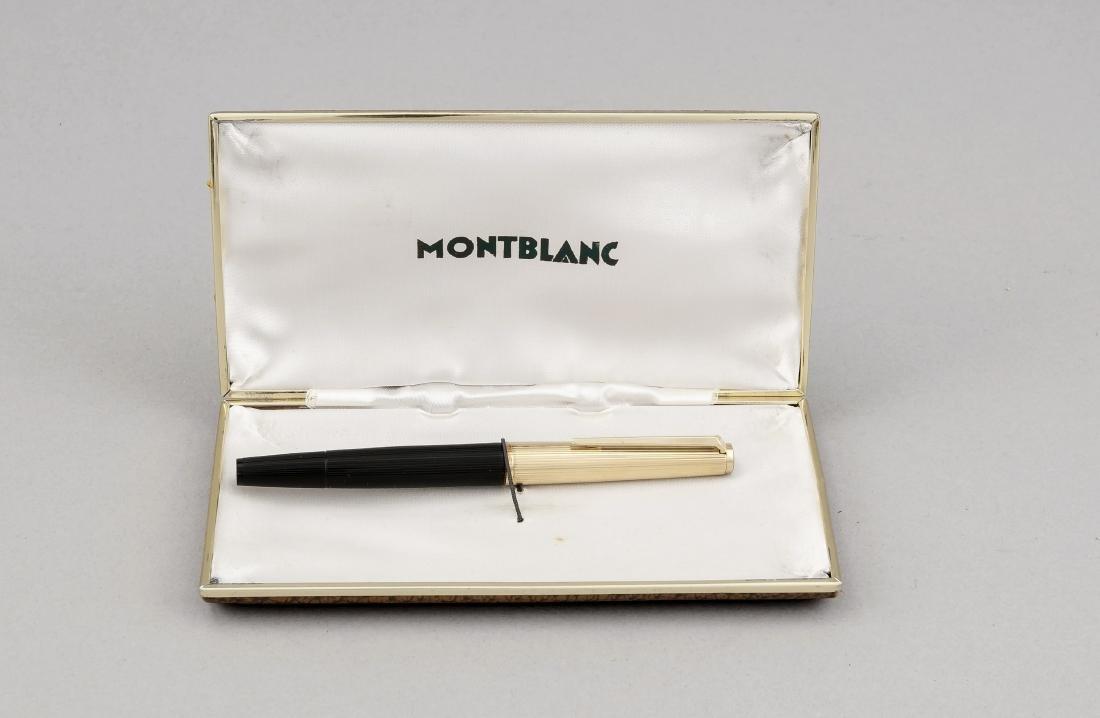 Montblanc-Füller in Montblanc-Etui, Deutschland, Mitte