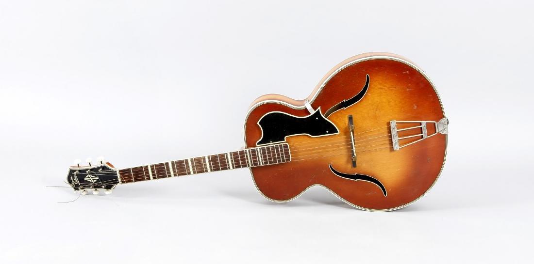 Jazzgitarre, Otwin Cabinet, DDR, 50er Jahre, das