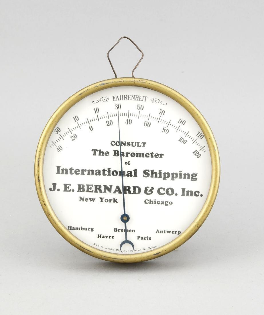 "Barometer, USA, 60er Jahre, bez. ""Made by Lakeside Mfg."