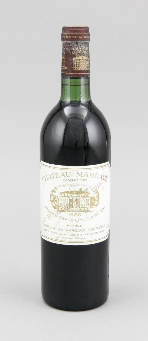 Chateau Margaux 1980, Grand Cru Classé, top shoulder,