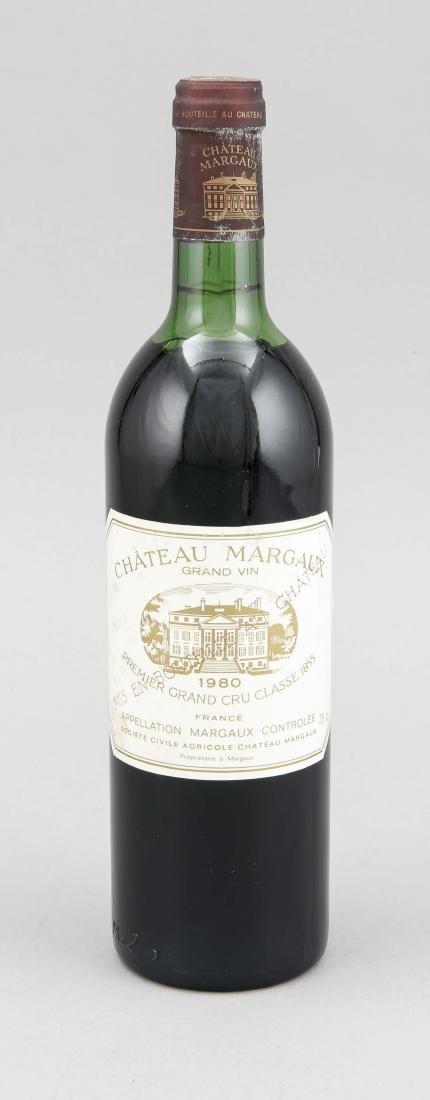 Chateau Margaux 1980, Grand Cru Classé, upper mid