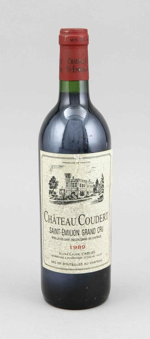 Chateau Coudert, Saint-Émilion Grand Cru 1989, into