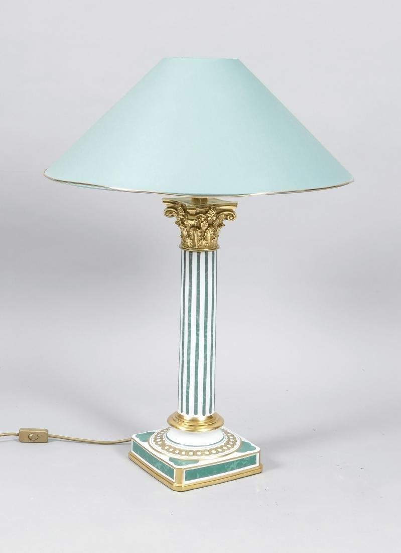 Tischlampe, Lampenfuß, Le Porcellane, Florenz, Italien,
