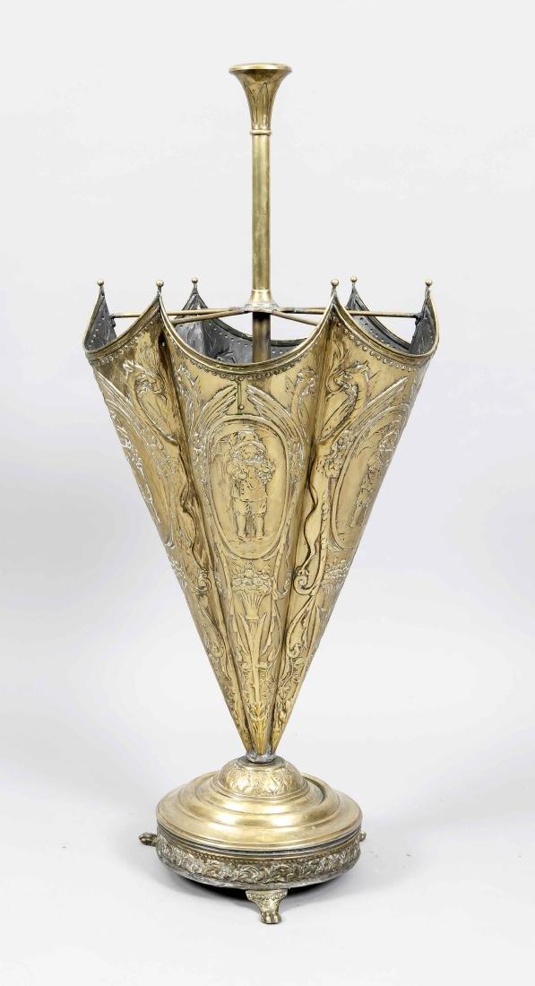 Schirmständer in Form eines Schirmes, 19. Jh.,