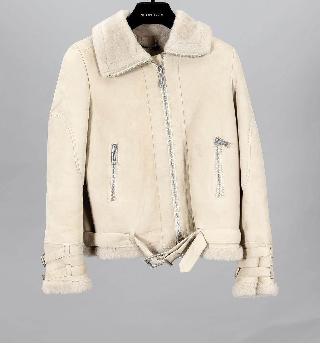 "Philipp Plein, Sheerling Jacket ""Chap"", beige, - 2"