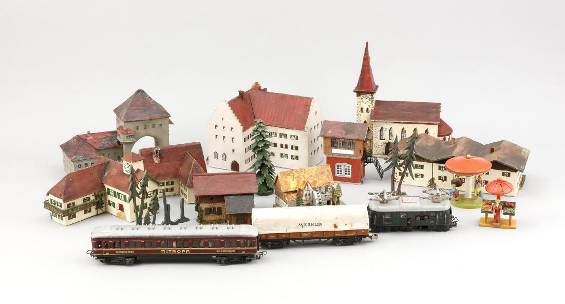 Konvolut altes Spielzeug, Deutschland, 1. H. 20. Jh.,