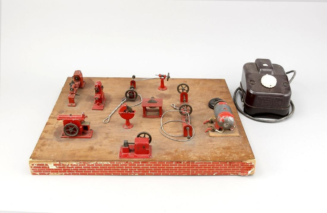 Modellbau-Werkstatt, Deutschland, um 1940, diverse