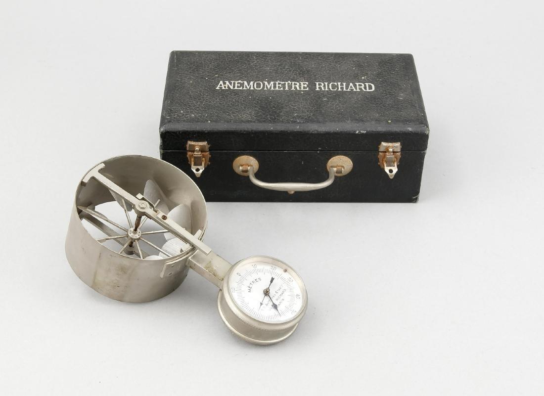 Tragbares Anemometer (Gerät zum Messen der Windstärke),