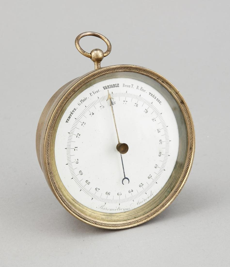 Barometer, Frankreich, 1. V. 20. Jh., bez. Baromètre