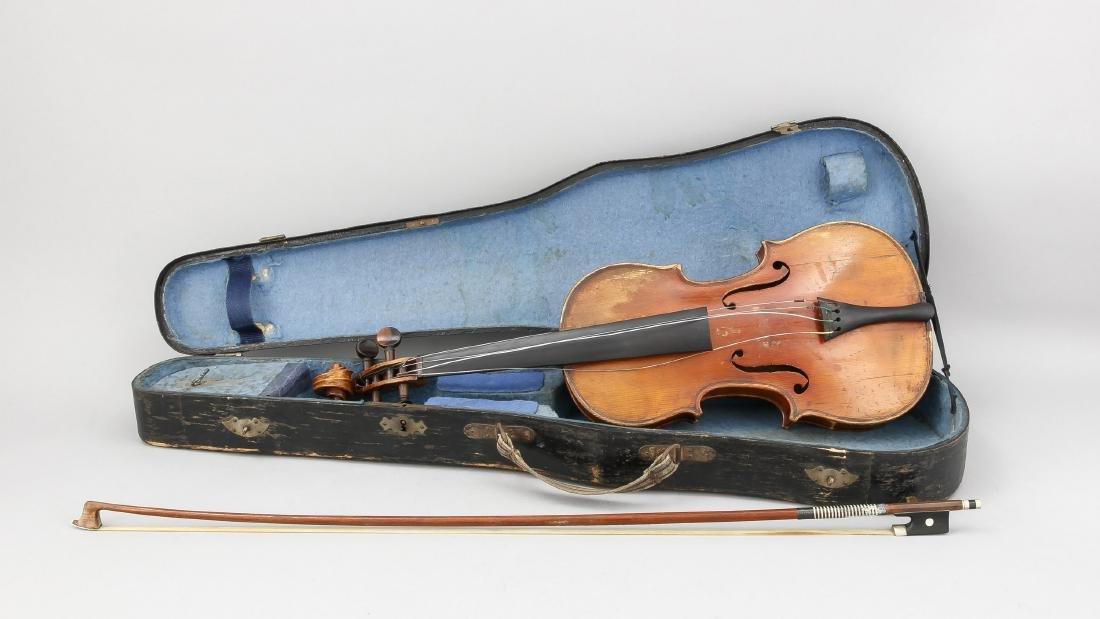 Violine, Deutschland, 1. H. 19. Jh., bez. Andreas