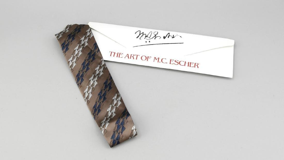 Krawatte M.C.Escher, Holland, 20. Jh., edle