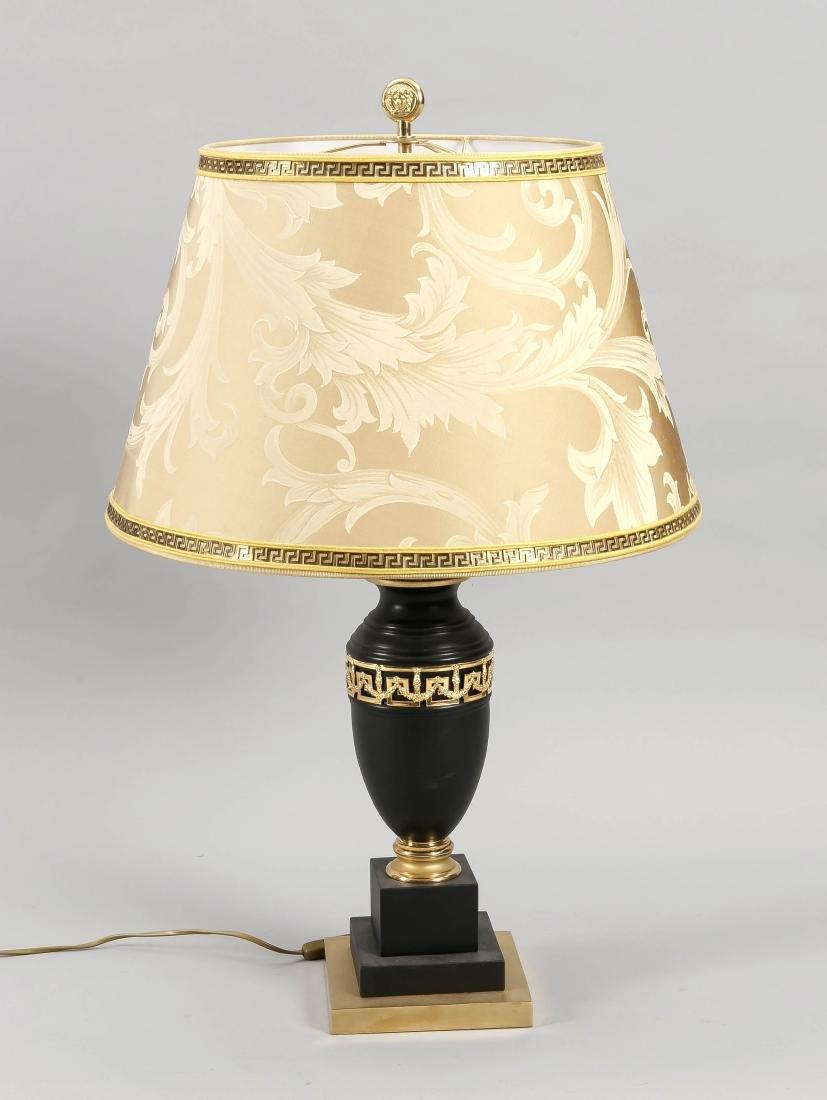 Versace Tischlampe, Italien 2. H. 20. Jh., 2-flg.,
