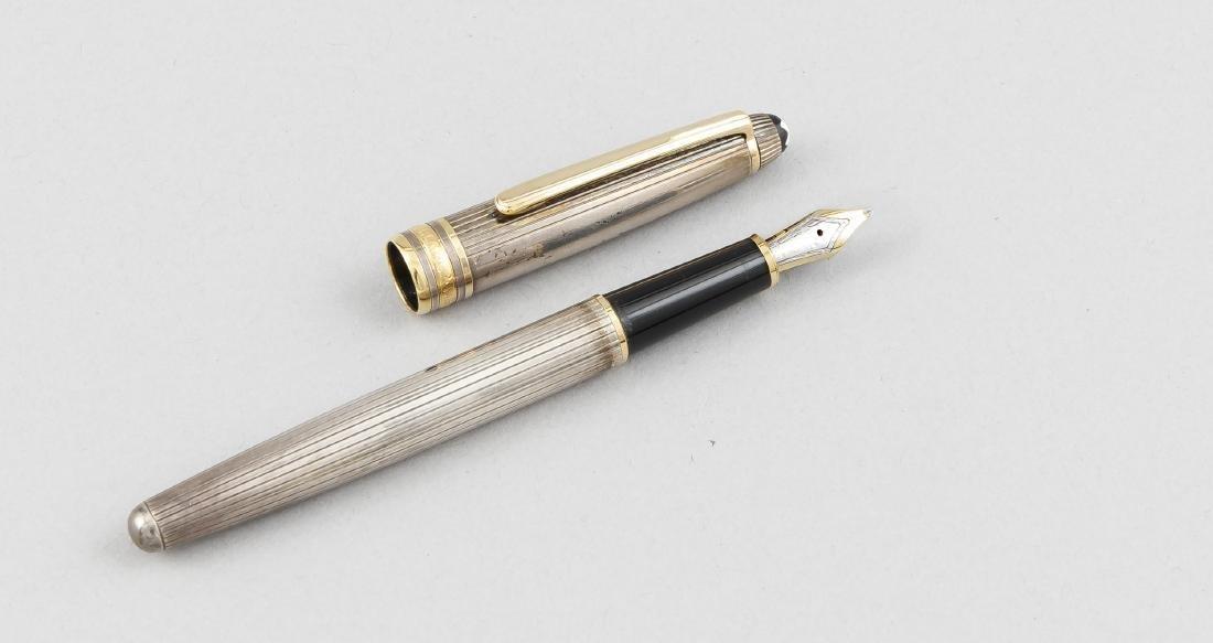 Montblanc Füller, 2. H. 20. Jh., bez. Montblanc
