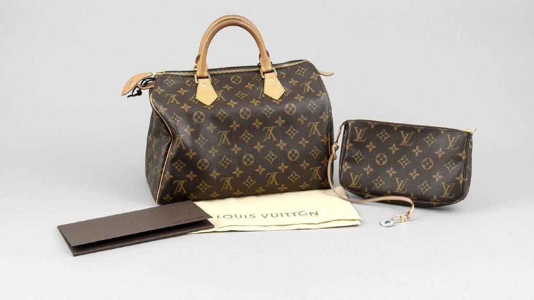 Louis Vuitton Handtasche Speedy 30, mit