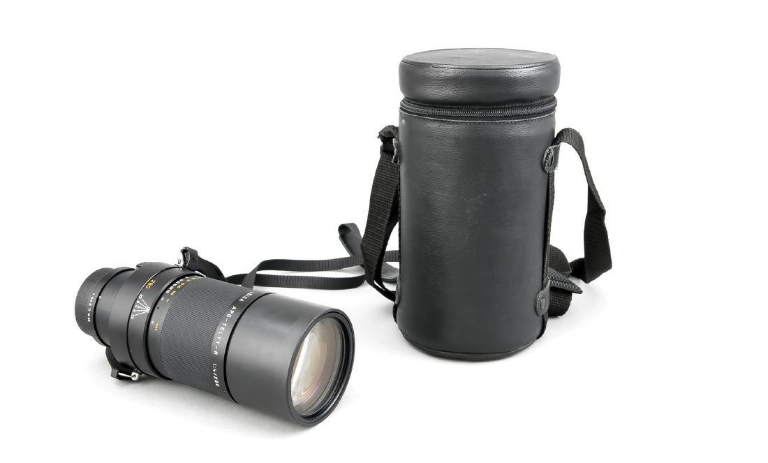 LEICA APO-Telyt-R 1:4/280 mm Teleobjektiv, mit beiden