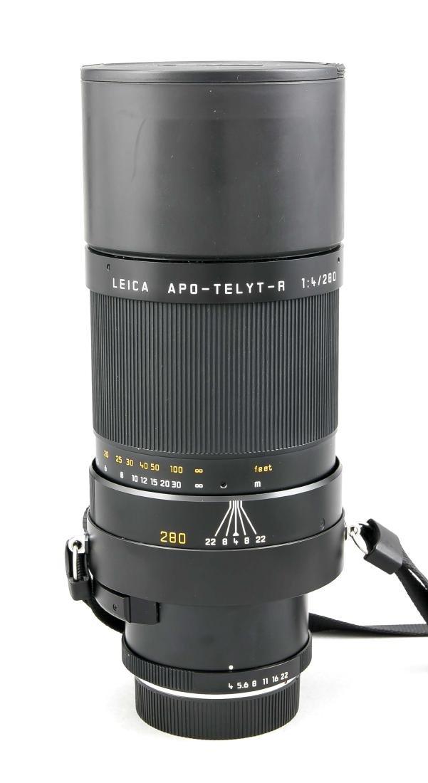 LEICA APO-Telyt-R 1:4/280 mm Teleobjektiv, mit beiden - 2