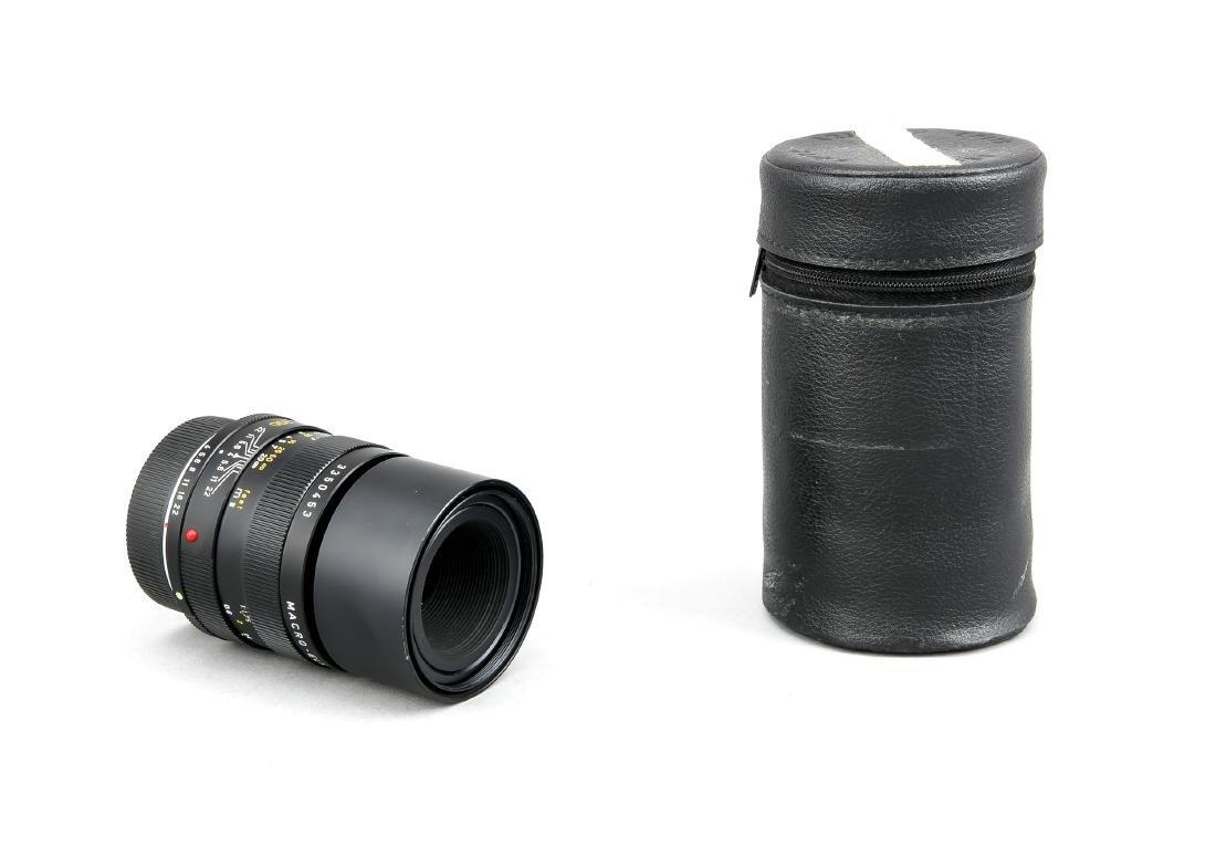 Leica Macro-Elmar-R 1:4/100mm Leitz Objektiv, mit beide