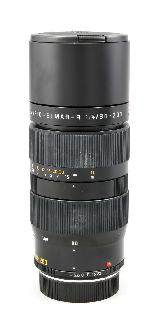 Leica Vario-Elmar-R 1:4/80-200 Objektiv, mit beiden - 2