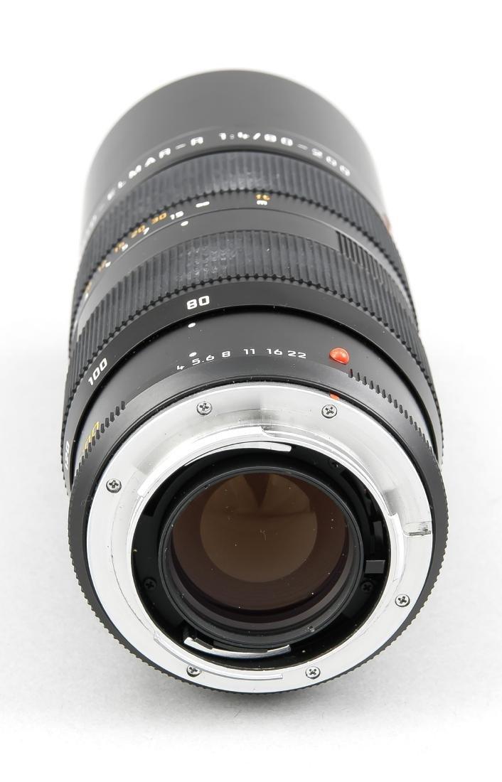 Leica Vario-Elmar-R 1:4/80-200 Objektiv, mit beiden - 3