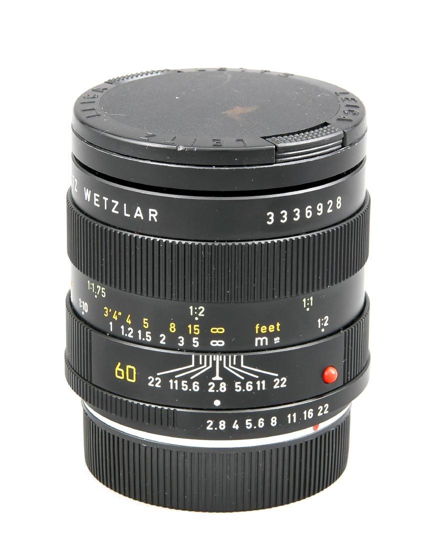 Leica Macro-Elmarit-R 1:2.8/60 3336928 Objektiv mit - 2