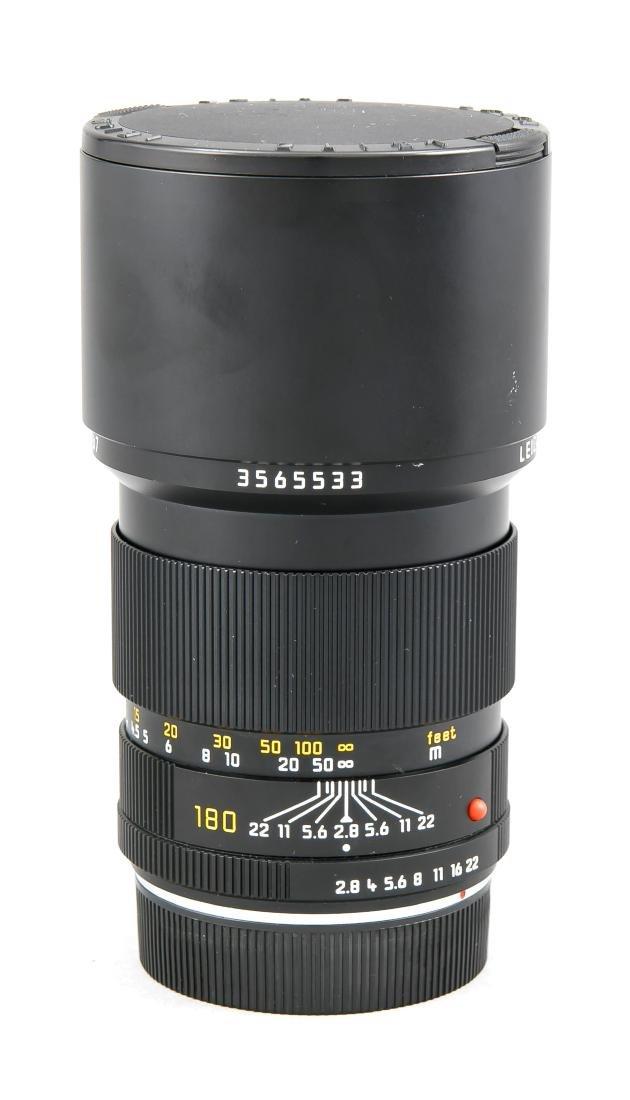 Leica Elmarit-R 1:2.8/180 E67 3565533 Objektiv mit - 2
