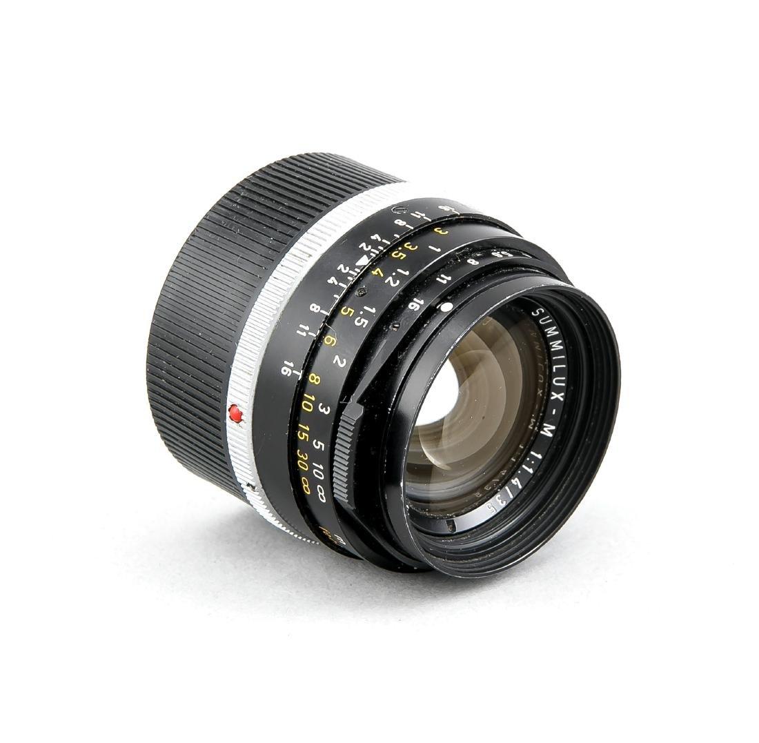 Leica Summilux-M 1:1.4/35 Objektiv 3140199 Canada, mit