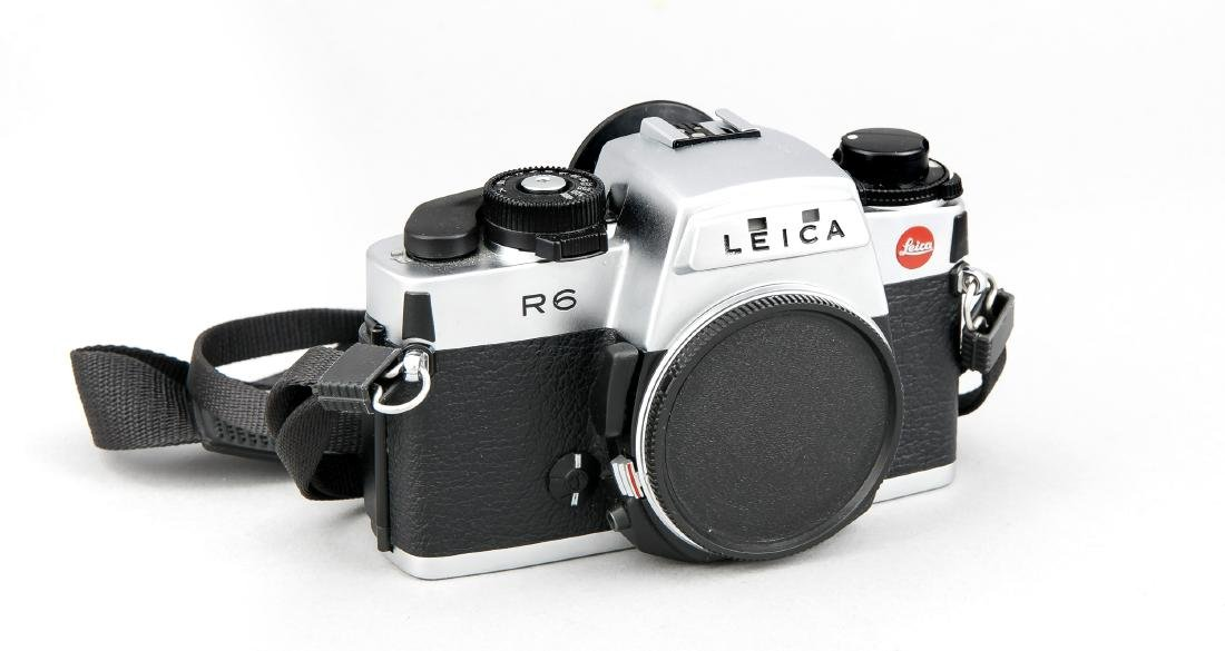 Leica M6 Kamerakorpus silberfarben 1772164 mit