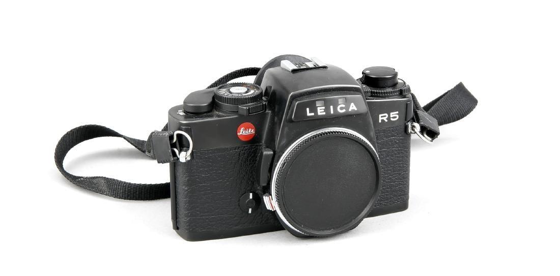 Leica R5 Kamerakorpus, schwarz, 1717192   German: