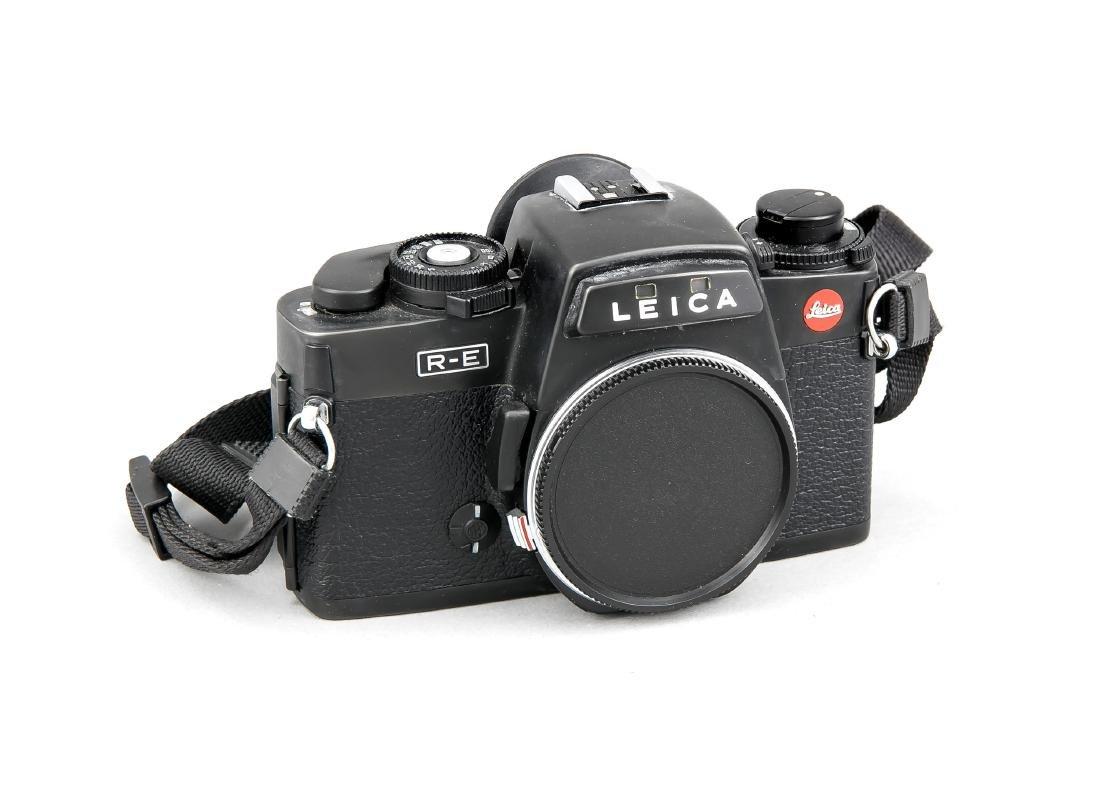 Leica R-E Kamerakorpus schwarz 1788154 mit Staubdeckel