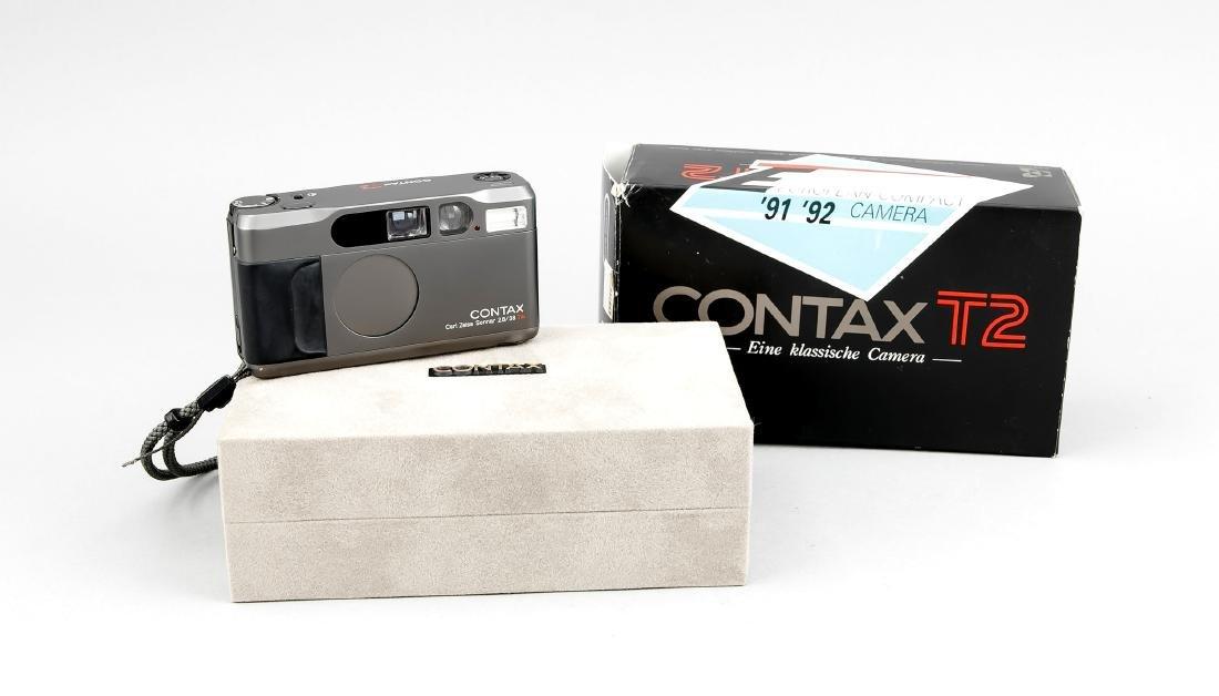 Contax T2 mit Zeiss Sonnar 2.8/38 086297, in originaler