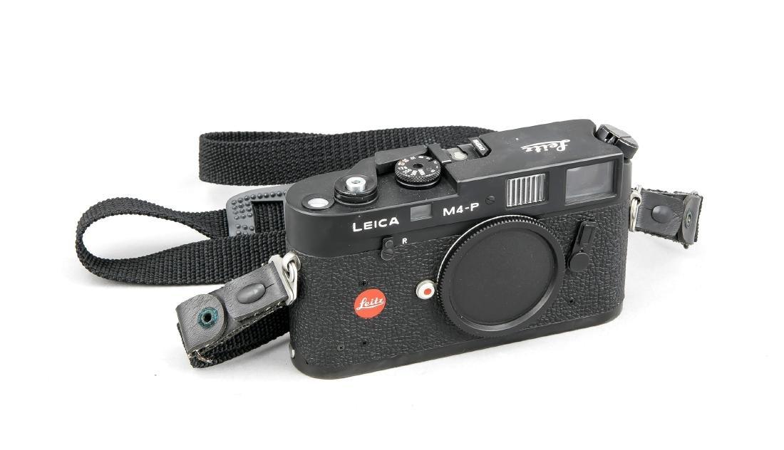Leica M4-P Kameragehäuse in schwarz, 1545342, Leitz