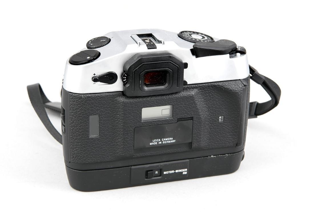 Leica R8 Kameragehäuse mit Motor-Winder und Staubdeckel - 2